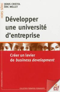Développer une université d'entreprise