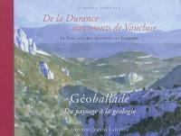 De la Durance aux monts de Vaucluse