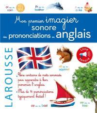 Mon premier imagier sonore des prononciations en anglais
