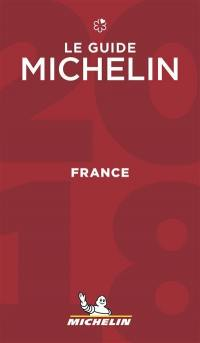 France, le guide Michelin 2018 : hôtels & restaurants