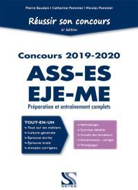 Réussir son concours ASS-EJE-ES-ME 2019-2020