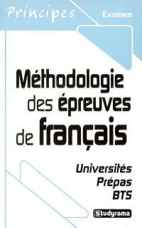 Méthodologie des épreuves de français