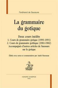 La grammaire du gotique