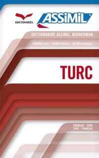 Dictionnaire turc-français, français-turc