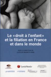 """Le """"droit à l'enfant"""" et la filiation en France et dans le monde : rapport final"""
