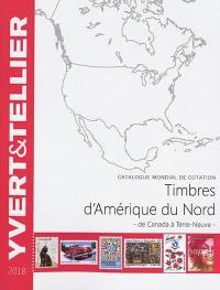 Catalogue de timbres-poste, Amérique du Nord
