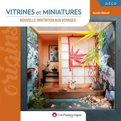 LIVRE : Vitrines et miniatures invitation aux voyages 9782814104792