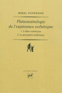 Phénoménologie de l'expérience esthétique