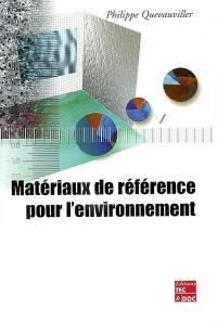 Matériaux de référence pour l'environnement