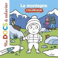La montagne : coloriage