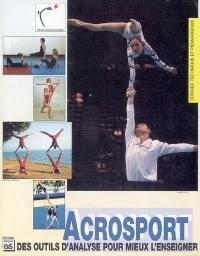 Acrosport : des outils d'analyse pour mieux l'enseigner