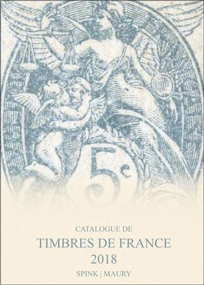 Catalogue de timbres de France : 2018