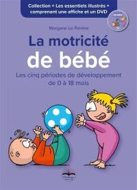 La motricité de bébé : les cinq périodes de développement de 0 à 18 mois