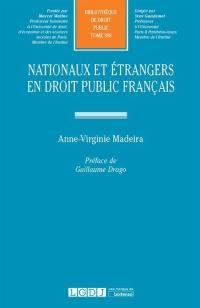 Nationaux et étrangers en droit public français