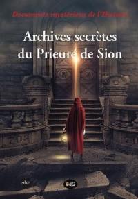 Archives secrètes du Prieuré de Sion