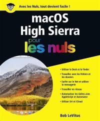 Mac OS High Sierra pour les nuls