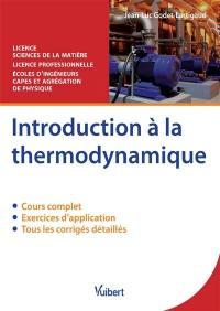 Introduction à la thermodynamique