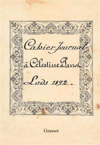 Cahier journal : Lods, 1892