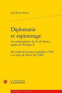 Diplomatie et espionnage