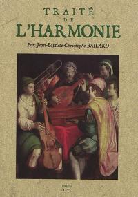 Traité de l'harmonie