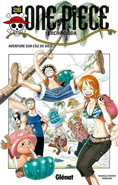 One Piece. Volume 26, Aventure sur l'île de Dieu