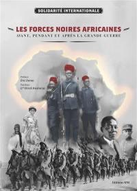 Les forces noires africaines