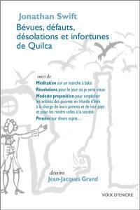 Bévues, défauts, désolations et infortunes de Quilca