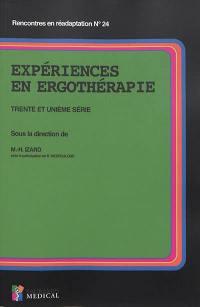 Expériences en ergothérapie