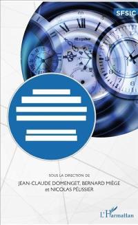 Temps et temporalités en information-communication : des concepts aux méthodes