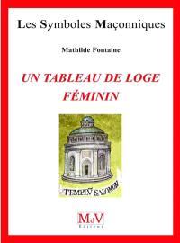 Un tableau de loge féminin