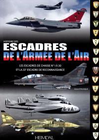 Les escadres de l'armée de l'air : de 1945 à nos jours
