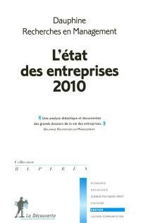 L'état des entreprises 2010