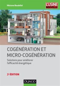 Cogénération et micro-cogénération : solutions pour améliorer l'efficacité énergétique