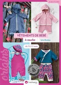 Vêtements de bébé à coudre