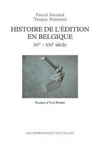 Histoire de l'édition en Belgique