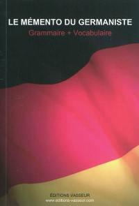 Le mémento du germaniste