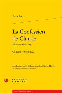 Oeuvres complètes, La confession de Claude