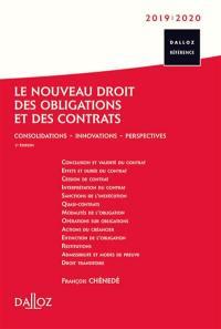 Le nouveau droit des obligations et des contrats