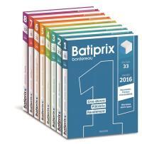 Batiprix 2016 : bordereau
