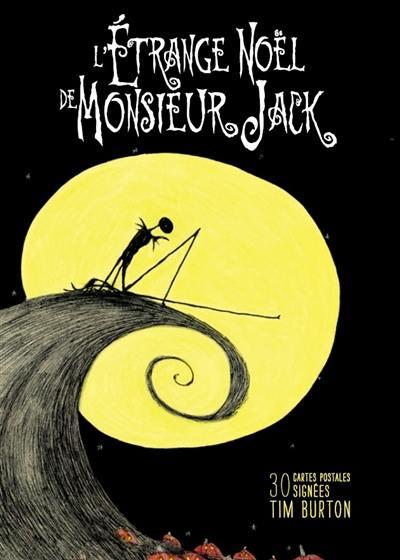 L'étrange Noël de monsieur Jack : 30 cartes postales signées Tim Burton