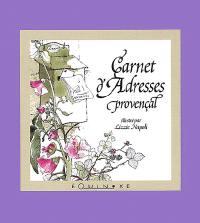 Mini-carnet d'adresses provençal