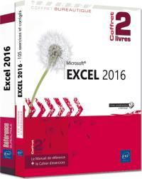 Excel 2016 : coffret 2 livres