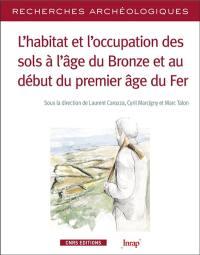L'habitat et l'occupation des sols à l'âge du bronze et au début du premier âge du fer