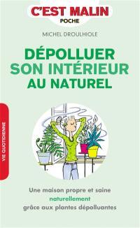 Dépolluer son intérieur au naturel : une maison propre et saine naturellement grâce aux plantes dépolluantes