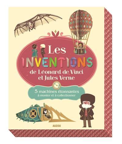 Les inventions de Léonard de Vinci et de Jules Verne : cinq machines étonnantes à monter et à collectionner