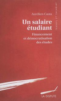 Un salaire étudiant