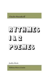 Rythmes 1 & 2, Poèmes