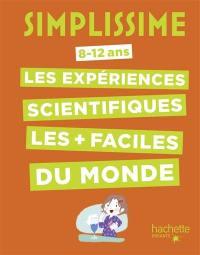 Simplissime, 8-12 ans : les expériences scientifiques les plus faciles du monde