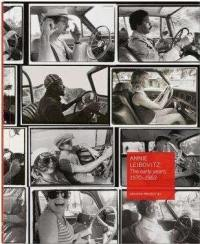 Annie Leibovitz, archive project. Volume 1, 1970-1983