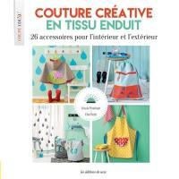 Couture créative en tissu enduit